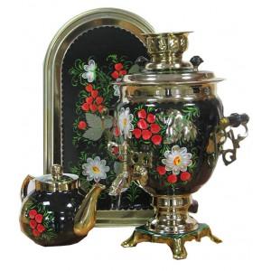 Набор для чаепития - Цветы 3